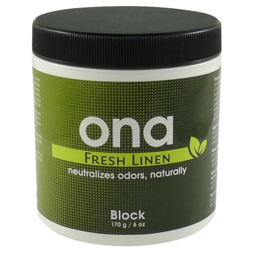 Ona Block Fresh Linen 6 oz