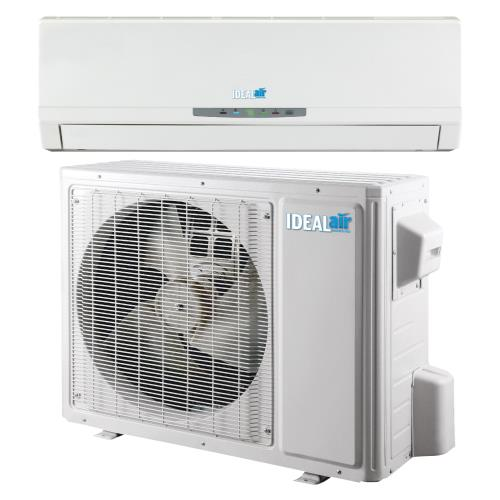Ideal-Air Pro Series Heating & Cooling 24,000 BTU 18 SEER