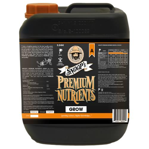 Snoop's Premium Nutrients Grow A Coco 10 Liter