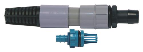 Hydro Flow Gray & Teal Fitting Kit Adapter