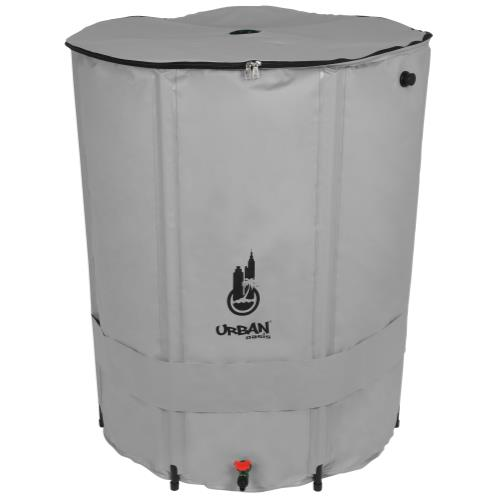 Urban Oasis Collapsible Water Storage Barrel 291 Gallon