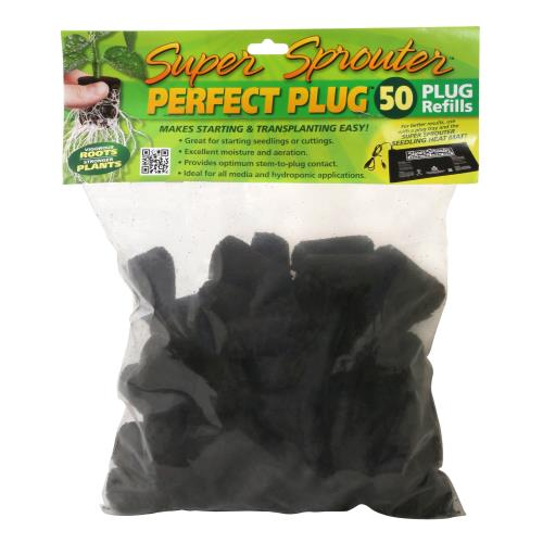 Super Sprouter Perfect Plug Custom Blend Refill Pack 50/Count
