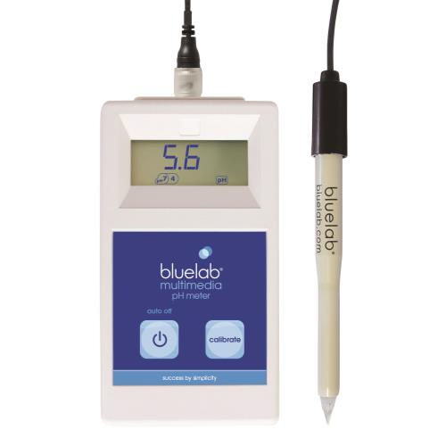 Bluelab Multimedia pH Meter (Leap Probe Included)