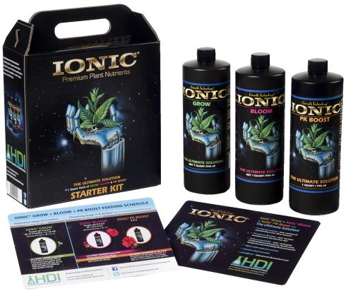 HydroDynamics Ionic Starter Kit (3 Quarts)