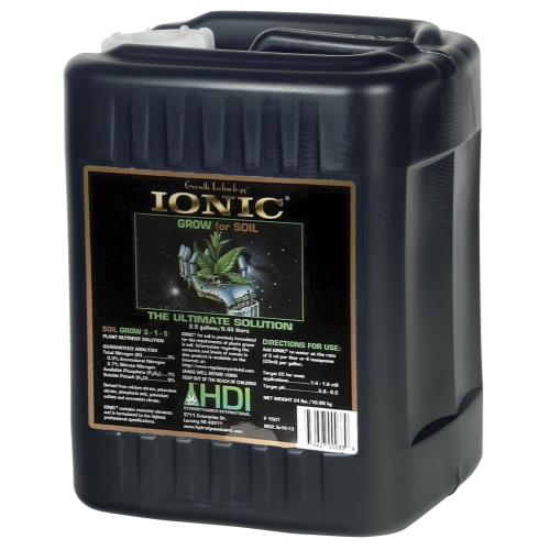 HydroDynamics Ionic Soil Grow 2.5 Gallon