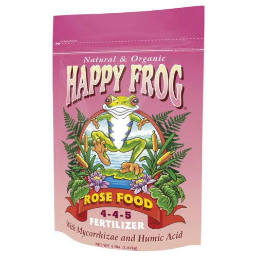 Happy Frog Rose Food Fertilizer 4 lb 4 - 4 - 5