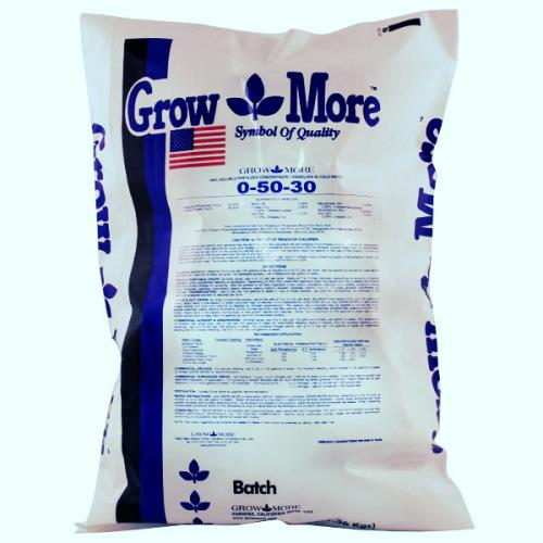 Grow More Water Soluble (0-50-30) 25 lb