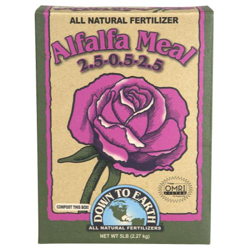 Down To Earth Alfalfa Meal 2.5-0.5-2.5 - 5 lb