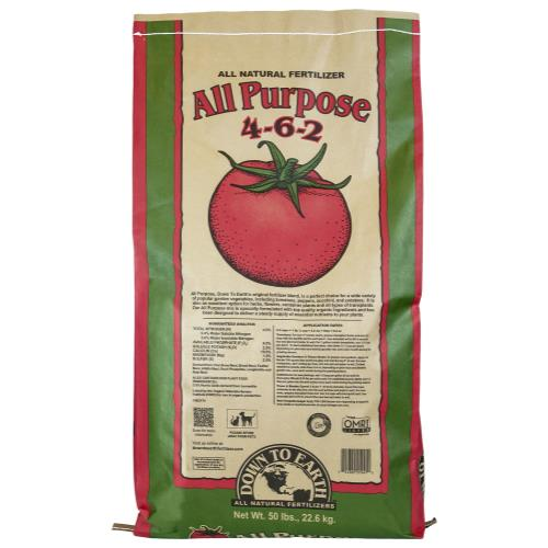 Down To Earth All Purpose Mix 4-6-2 - 50 lb
