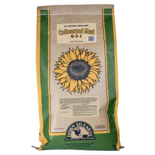 Down To Earth Cottonseed Meal 6-2-1 - 50 lb