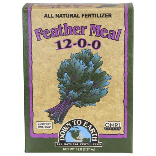 Down To Earth Feather Meal 12-0-0 - 5 lb