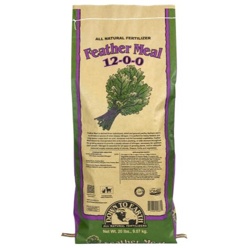 Down To Earth Feather Meal 12-0-0 - 20 lb