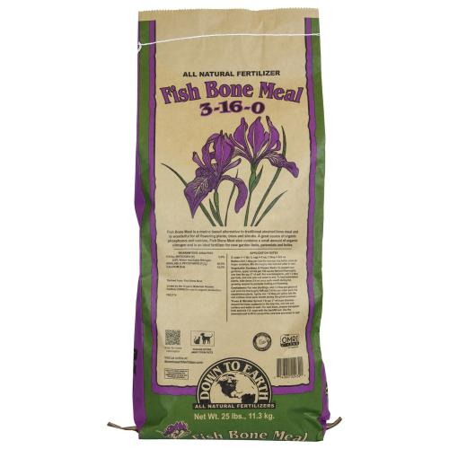 Down To Earth Fish Bone Meal 3-16-0 - 25 lb