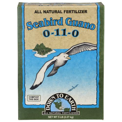 Down To Earth Seabird Guano 1-10-0 - 5 lb