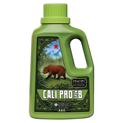 Emerald Harvest Cali Pro Grow B 2 Quart/1.9 Liter