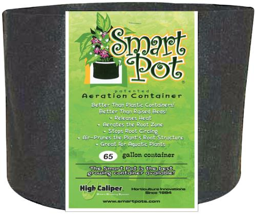 Smart Pot Black 65 Gallon
