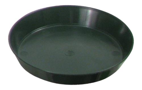 Green Premium Plastic Saucer 6 in (10/pack)