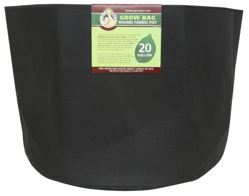 Gro Pro Round Grow Bag 20 Gallon