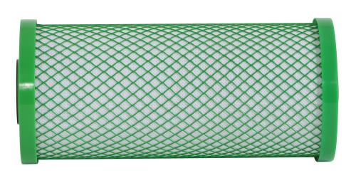 Premium Green Coconut Carbon Filter - 4.5 in x 10 in