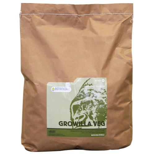 Botanicare Growilla Veg 50 lb Bag