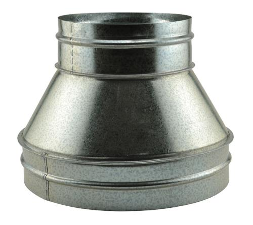 Ideal-Air Duct Reducer 12 in - 8 in