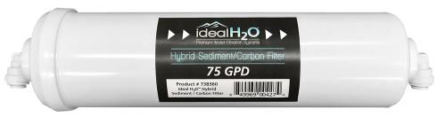 Ideal H2O Hybrid Sediment/Carbon Filter