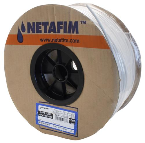 Netafim Super Flex UV White Polyethylene Tubing 5 mm -1000 ft