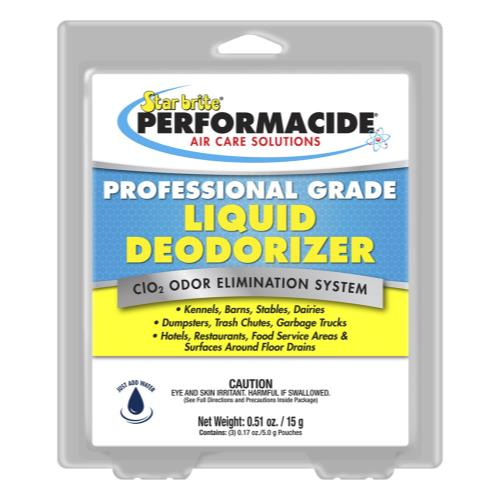 Star Brite Performacide Professional Liquid Deodorizer 3/Pack Gallon Refill Kit