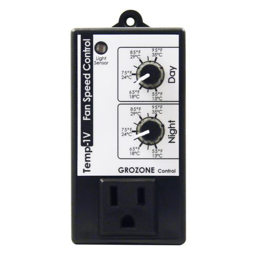 Grozone Control  Control TV1 Day/Night Fan Speed Control