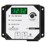 Grozone Control  Control CO2R 0-5000 PPM CO2 Controller w/ AUX Output & High Temp