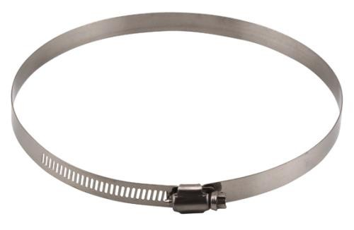 Ideal-Air Stainless Steel Hose Clamps 2/Pack 6 in