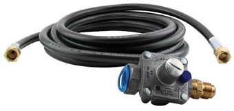Titan Controls NG Hose and Regulator Kit - 12 ft