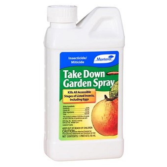 Take Down Garden Spray Pint