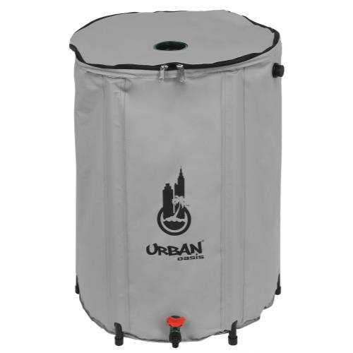 Urban Oasis Collapsible Water Storage Barrel 59 Gallon