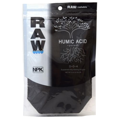 RAW Humic Acid 2 oz 0 - 0 - 4