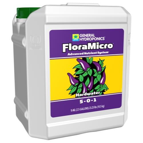 GH Hardwater Flora Micro 2.5 Gallon