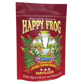 Happy Frog Tomato & Vegetable Fertilizer 4 lb 7 - 4 - 5
