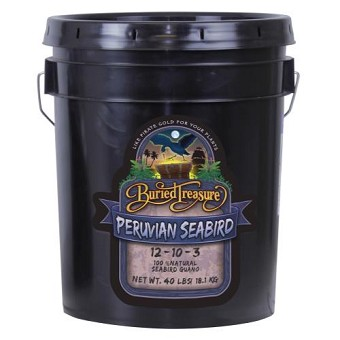 Buried Treasure Peruvian Seabird Guano 12-10-3 40 lb