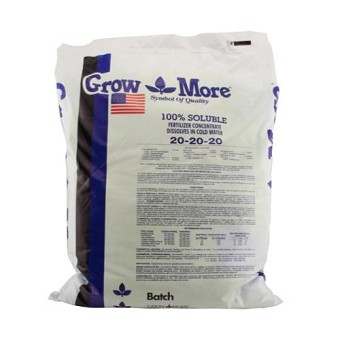 Grow More Water Soluble General Purpose 25 lb 20 - 20 - 20