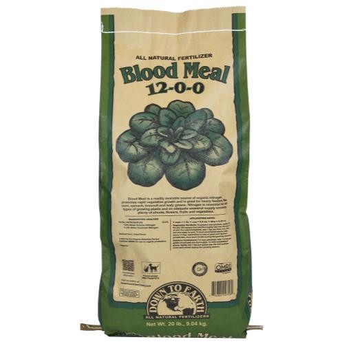 Down To Earth Blood Meal 12-0-0 - 20 lb