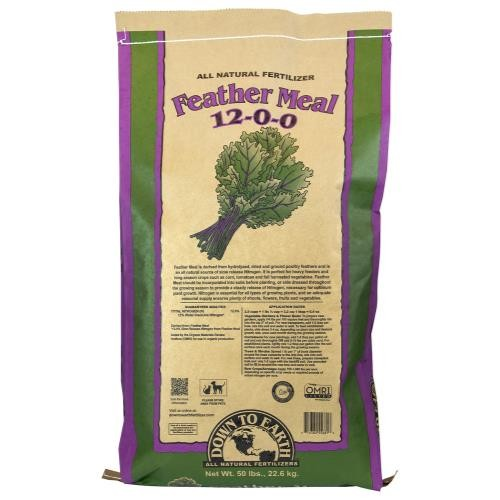 Down To Earth Feather Meal 12-0-0 - 50 lb