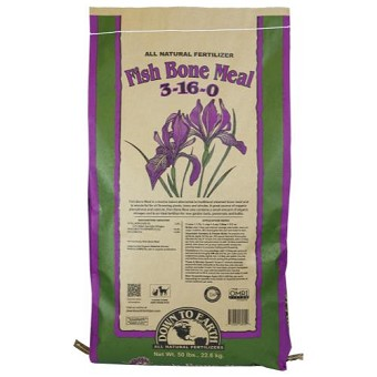 Down To Earth Fish Bone Meal 3-16-0 - 50 lb