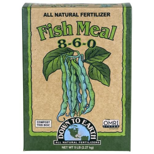 Down To Earth Fish Meal 8-6-0 - 5 lb