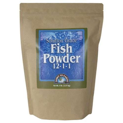 Down To Earth Fish Powder 12-1-1 - 5 lb