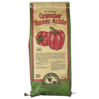 Down To Earth Granular Humic Acid - 25 lb