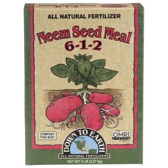Down To Earth Neem Seed Meal - 5 lb