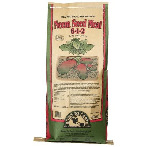Down To Earth Neem Seed Meal - 20 lb
