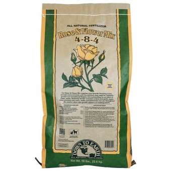 Down To Earth Rose & Flower Mix 4-8-4 - 50 lb