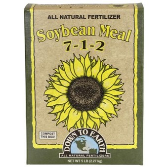 Down To Earth Organic Soybean Meal 7-2-1 - 5 lb