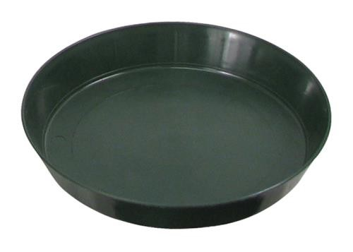 Green Premium Plastic Saucer 8 in (10/pack)
